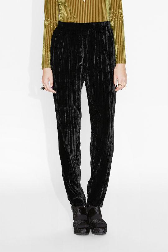 monki velvet trousers (1)
