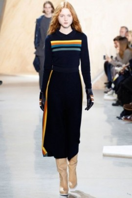 lacoste racer stripe dress vogue