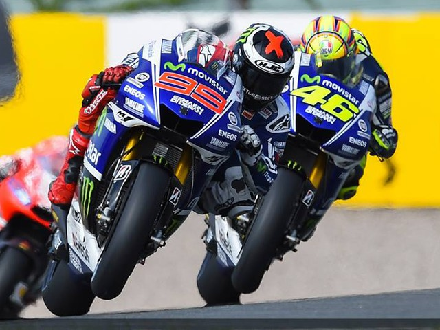Jorge Lorenzo currently leads the MotoGP Championship, as he looks for back-to-back triumphs.