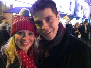 Cute Selfie at Bath Christmas market