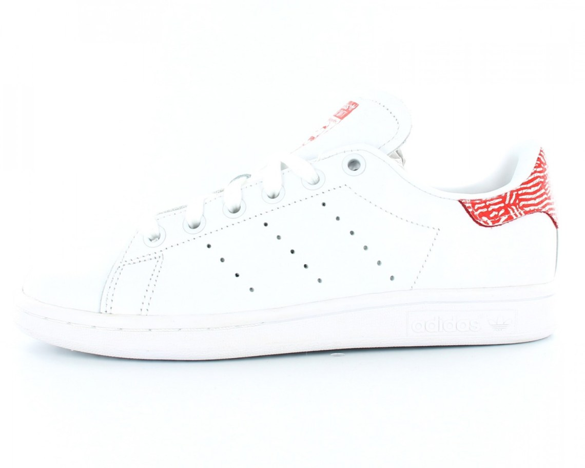 Adidas Stan Smith Rouge 1