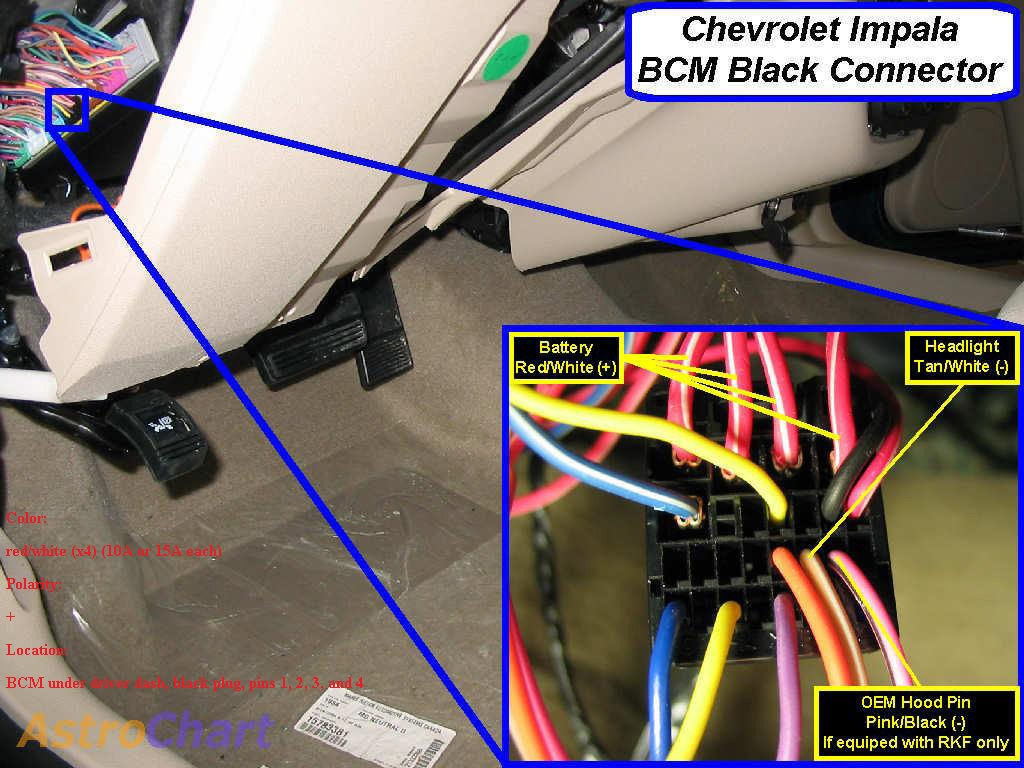 Impala Ignition Wiring Diagram 2011 Bcm Partial Pinout Chevy Impala Forums