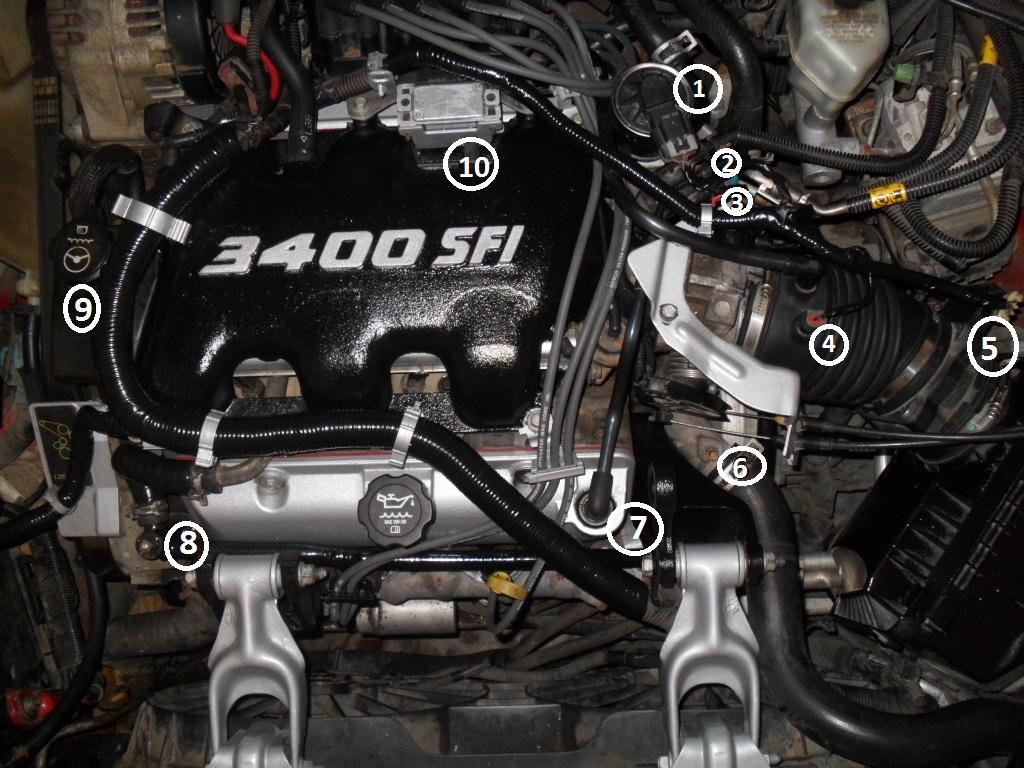 3400 sfi engine coolant diagram