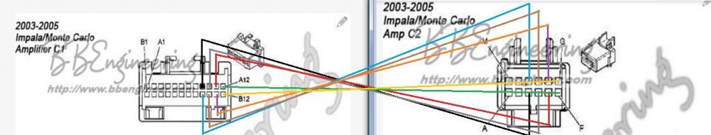2001 impala amp wiring diagram - wiring diagrams - 2001 impala radio wiring  diagram on popscreen