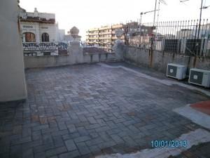 preparació rehabilitació i impermeabilització terrat carrer mallorca barcelona