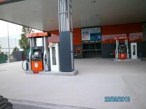 paviment multicapa pendent acabat impapol resin gasolinera barcelona