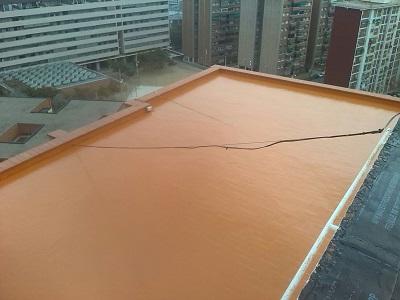 terrassa terrat impermeable poliurea freda calenta impermeabilització edifici barcelona catalunya