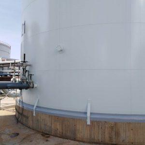 impermeabilització diposit meroil port barcelona acabat