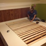 Diy Farmhouse Bed From 2 Ana White Plans Ferrisbuilt Impatiently Crafty