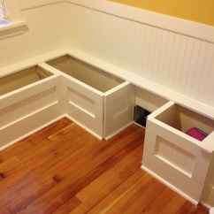 Diy Kitchen Bench With Storage Moen Vestige Faucet Custom Nook Benches