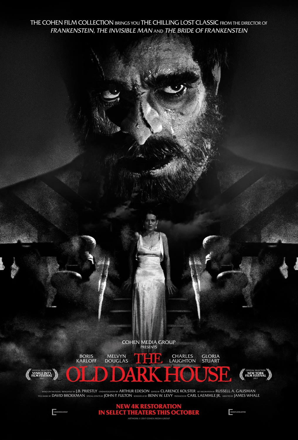 Extra Large Movie Poster Image for The Old Dark House (#2 of 2)