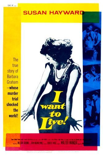 Image result for i want to live! movie poster