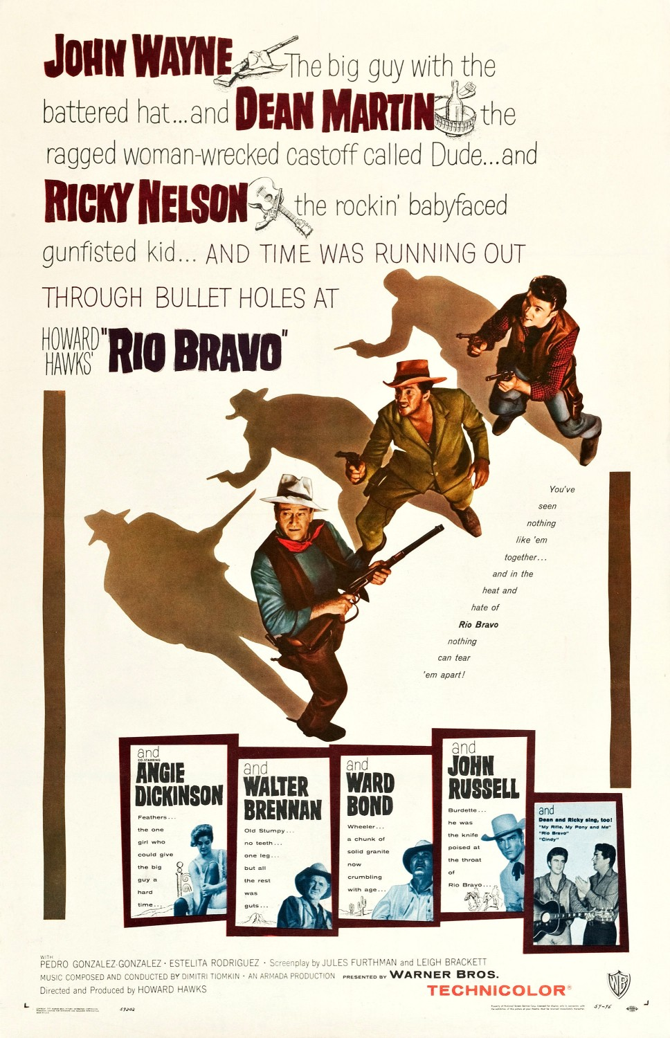 Extra Large Movie Poster Image for Rio Bravo (#1 of 5)