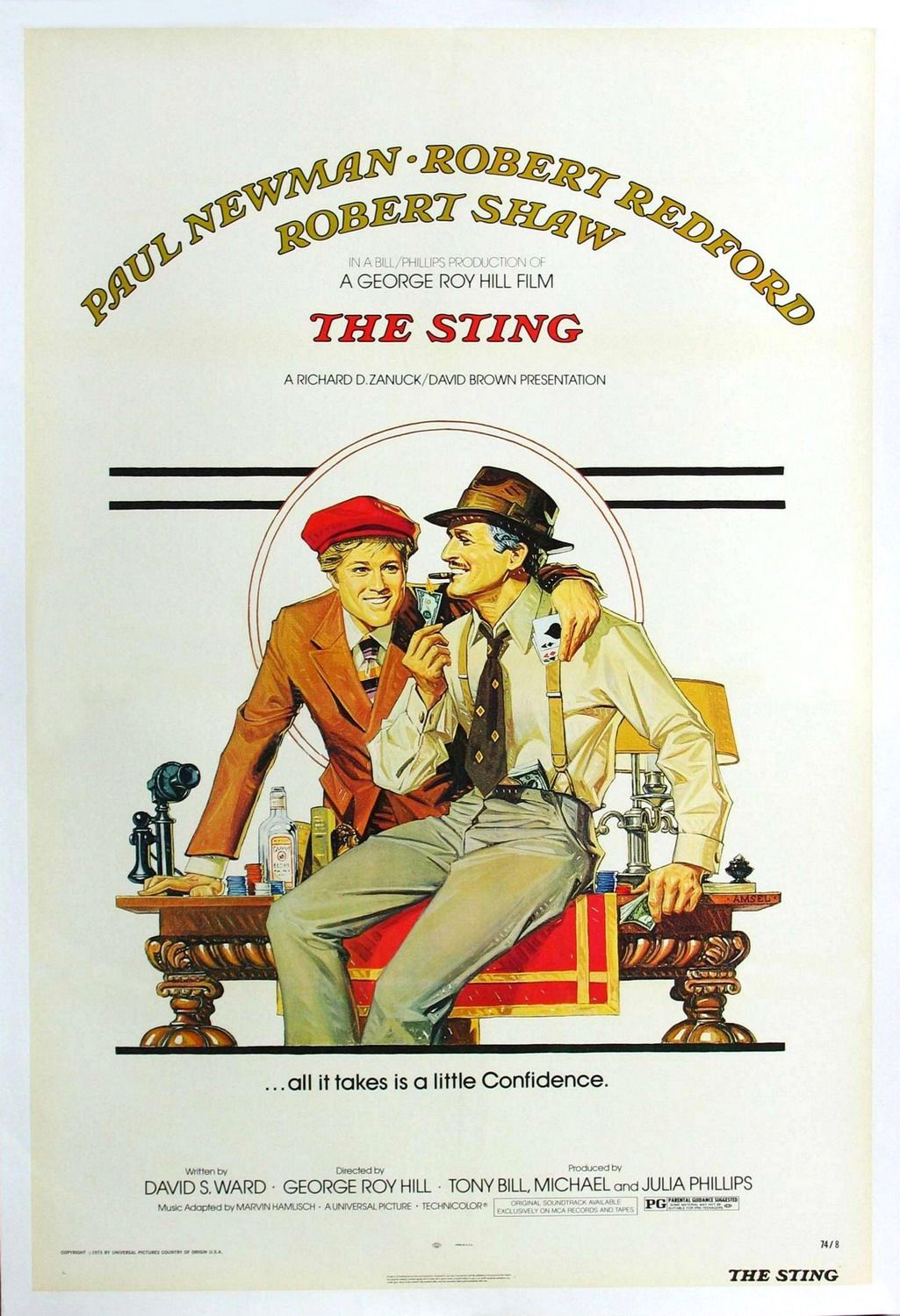 Image result for The Sting poster