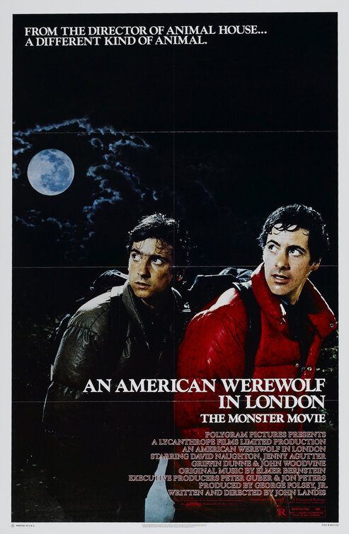 An American Werewolf in London Movie Poster