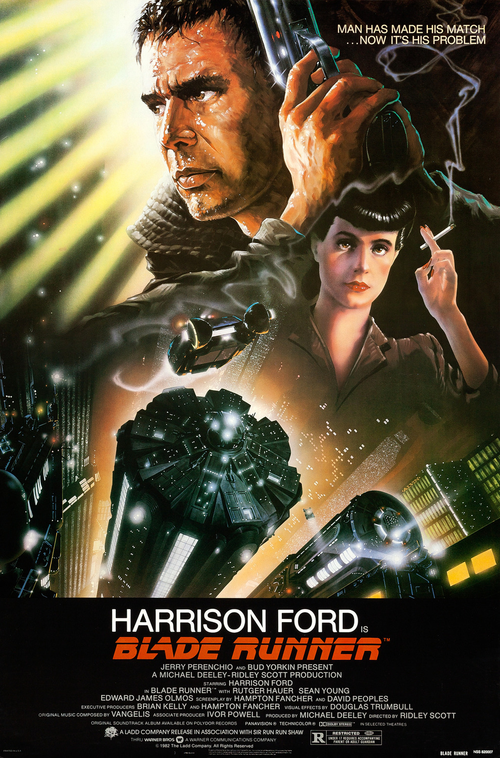 Extra Large Movie Poster Image for Blade Runner (#1 of 7)