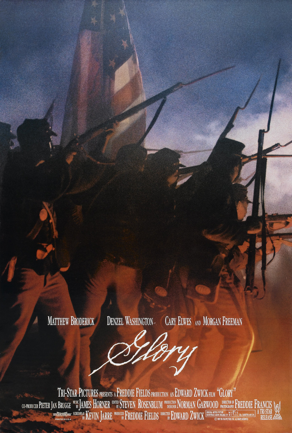 Extra Large Movie Poster Image for Glory
