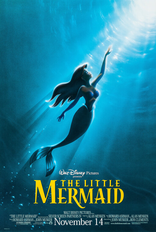 The Little Mermaid Movie Poster 1 of 6 IMP Awards