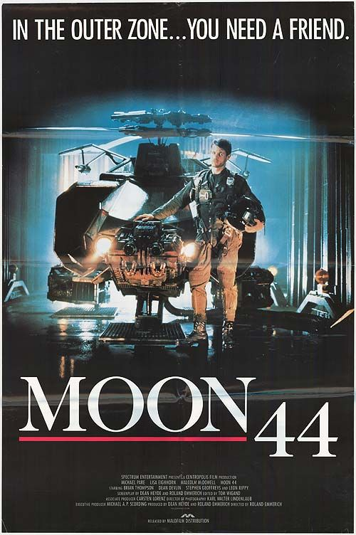 Moon 44 Movie Poster 1 of 2  IMP Awards