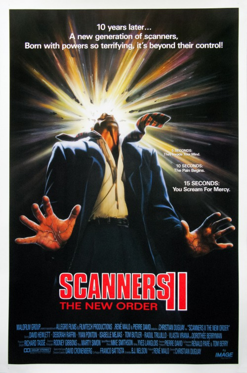 Scanners II Movie Poster