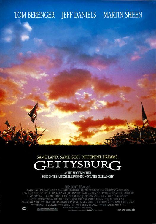 Gettysburg Movie Poster