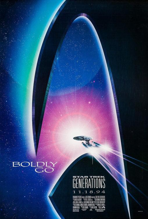 Patrick Wallpaper Hd Star Trek Generations Movie Poster 1 Of 5 Imp Awards