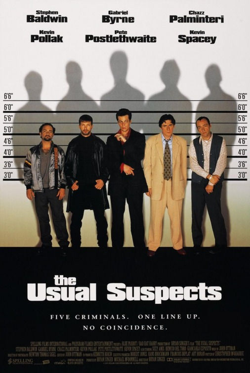 Image result for the usual suspects poster