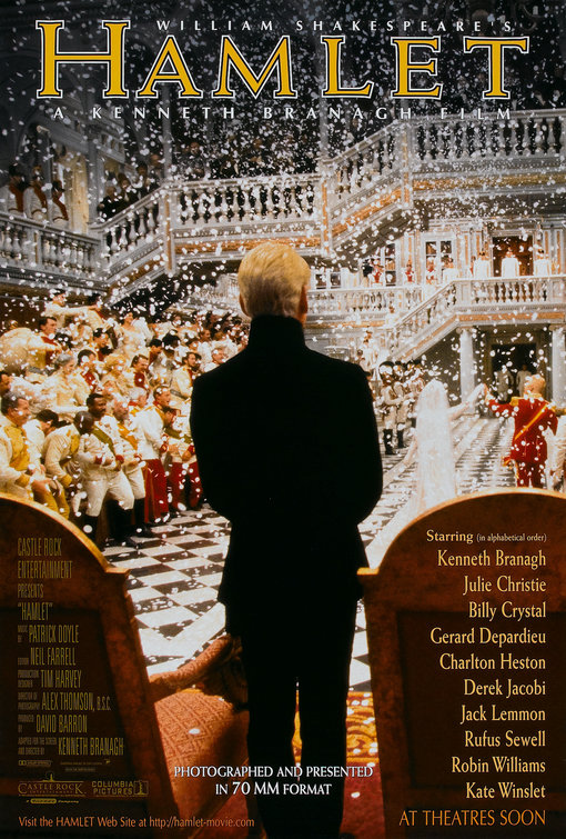Image result for hamlet movie poster 1996