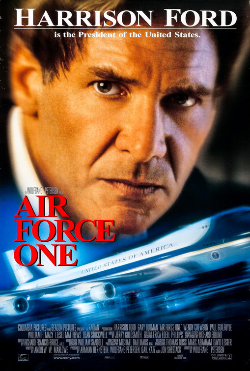Air Force One Movie Poster