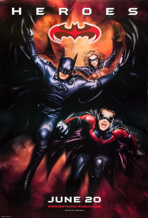 Batman Amp Robin Movie Poster 3 Of 10 Imp Awards