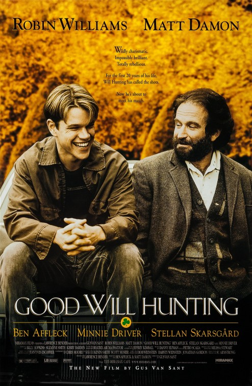 Image result for good will hunting poster