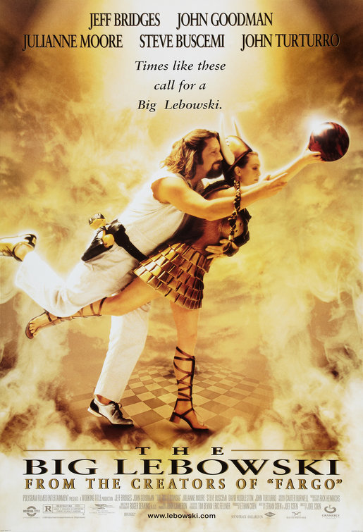 Image result for the big lebowski poster