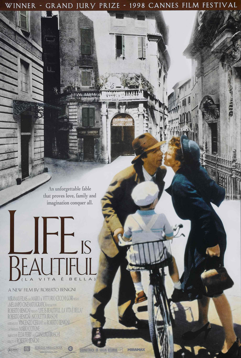Image result for life is beautiful poster