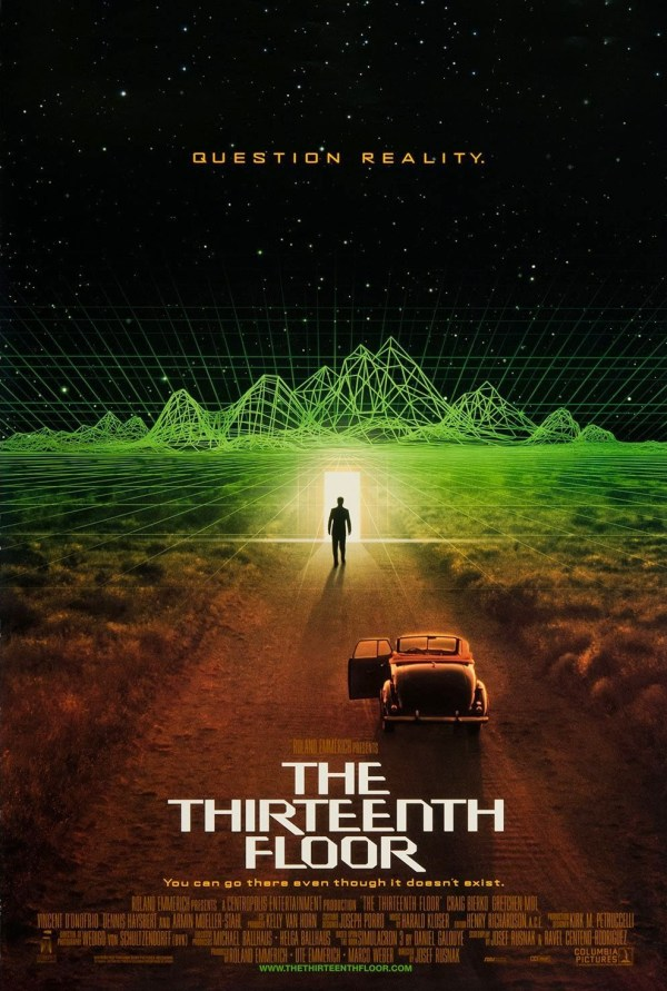 Thirteenth Floor Extra Large Movie Poster - Imp Awards