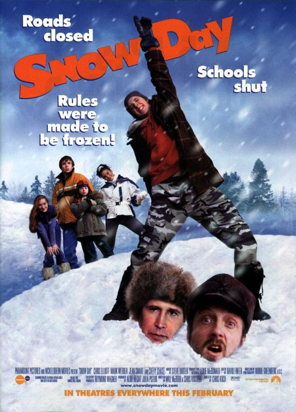 Snow Day Extra Large Movie Poster - Imp Awards