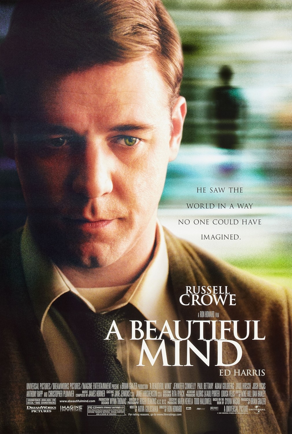 Image result for a beautiful mind poster