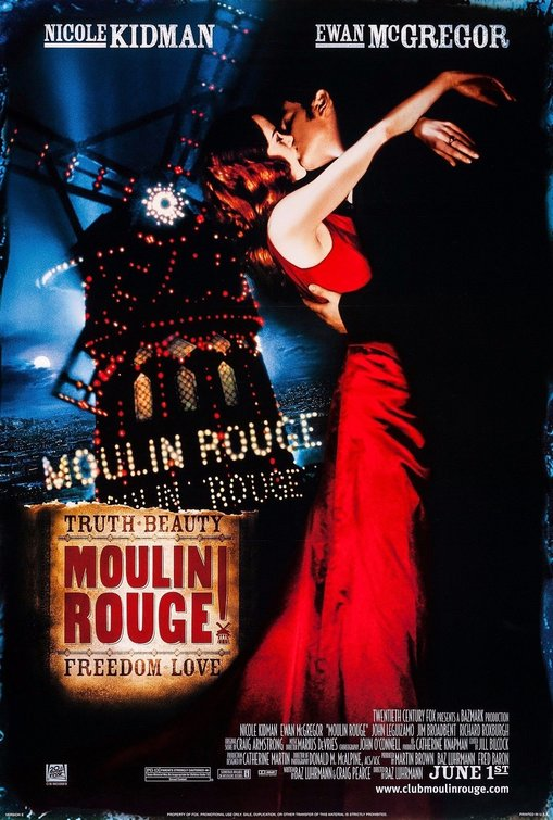 Image result for moulin rouge movie poster