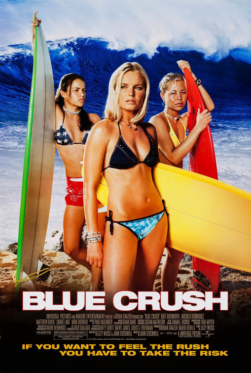 Image result for blue crush movie poster