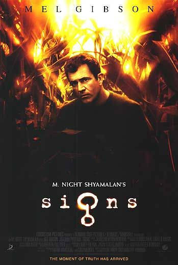 Signs Movie Poster 3 of 3  IMP Awards