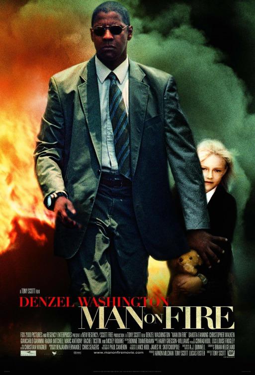 denzel washingon and dakota fanning man on fire