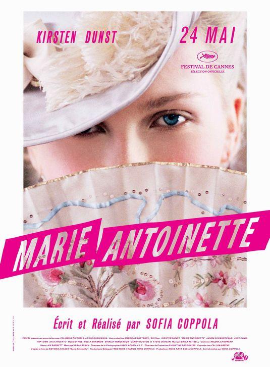 Marie-Antoinette Movie Poster