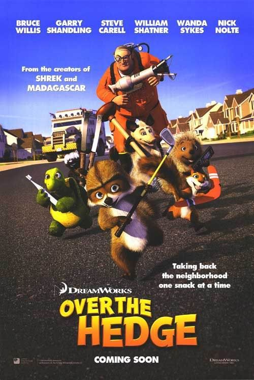 Over The Hedge Movie Poster 7 Of 11 IMP Awards
