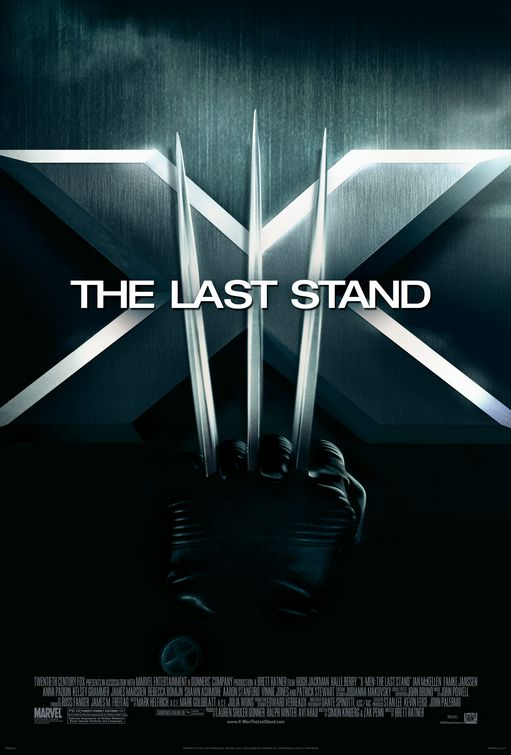 X-Men: The Last Stand (aka X-Men 3) Movie Poster