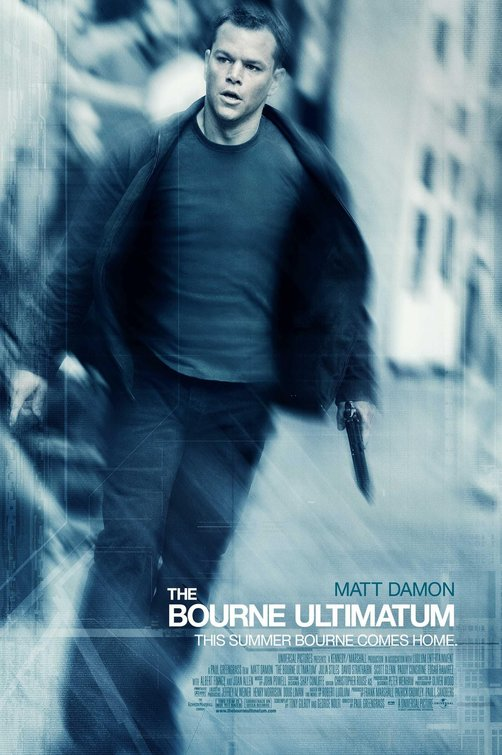 The Bourne Ultimatum Movie Poster