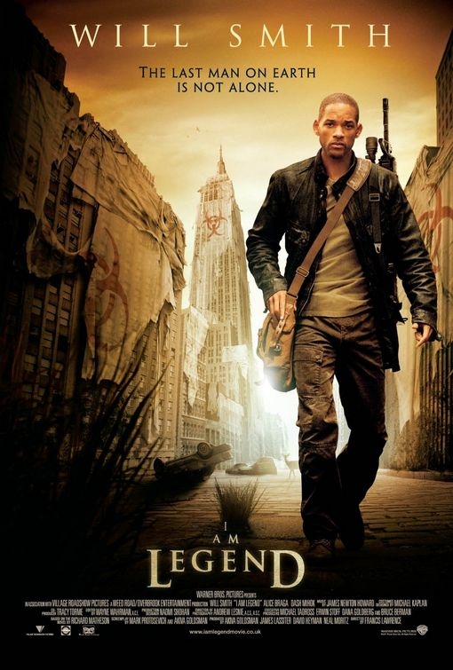 I Am Legend Poster - Click to View Extra Large Image