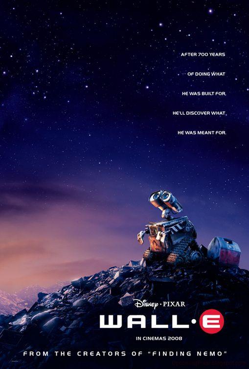 """Résultat de recherche d'images pour """"WALL-E movie poster"""""""