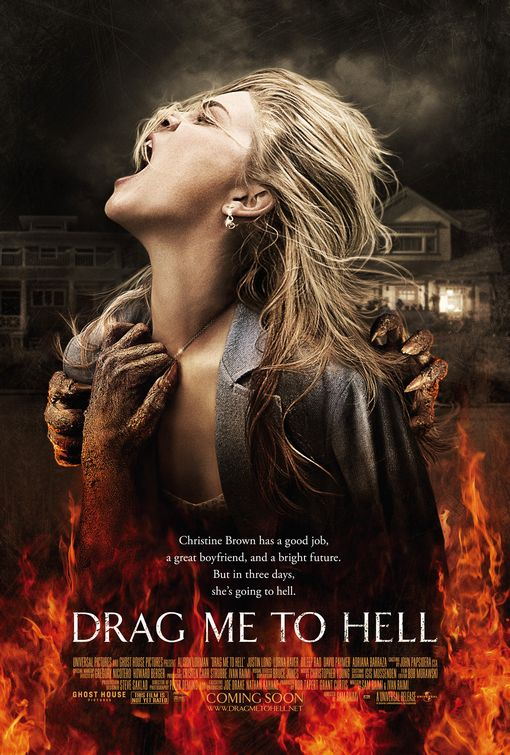 Image result for drag me to hell poster