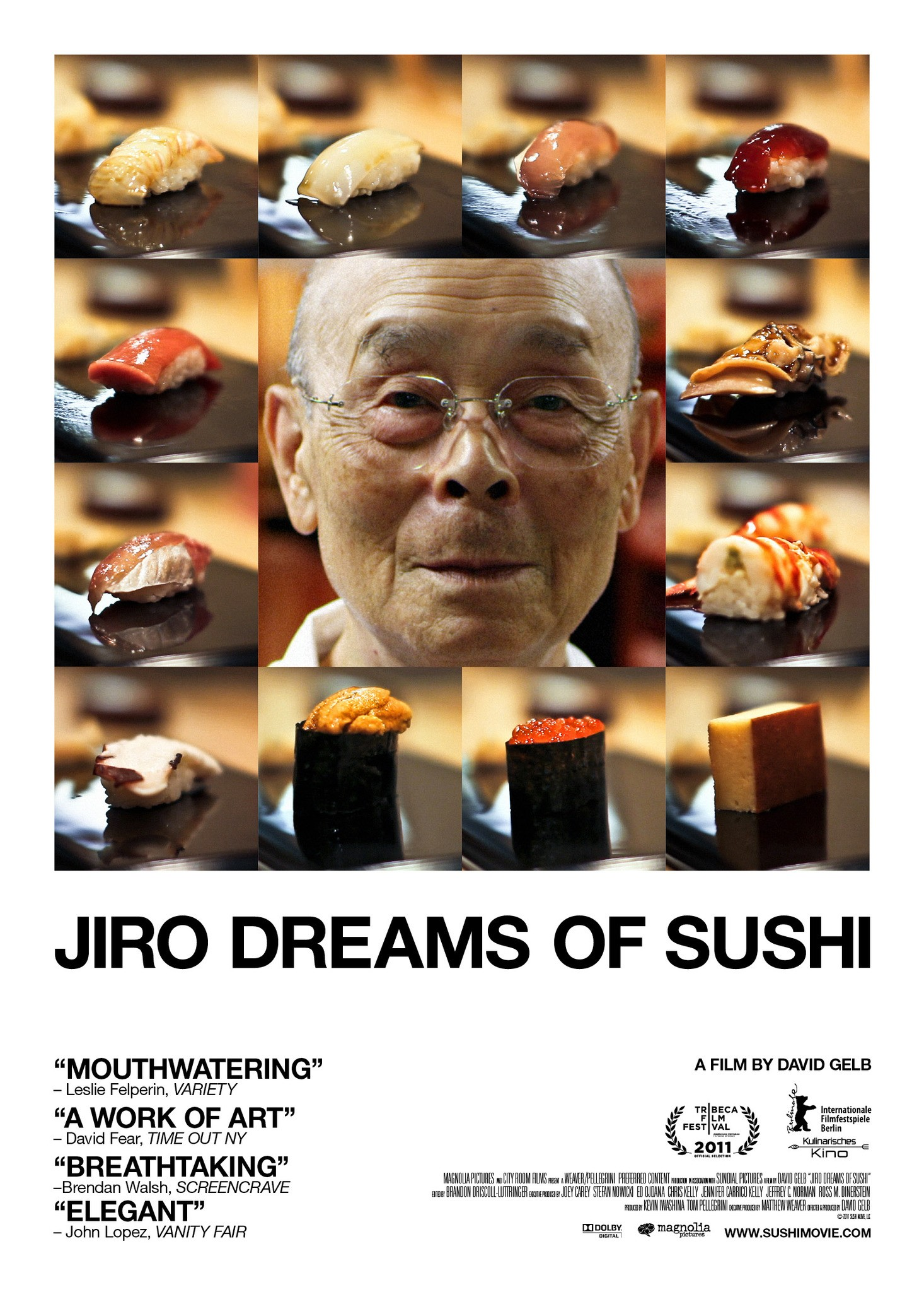 Mega Sized Movie Poster Image for Jiro Dreams of Sushi