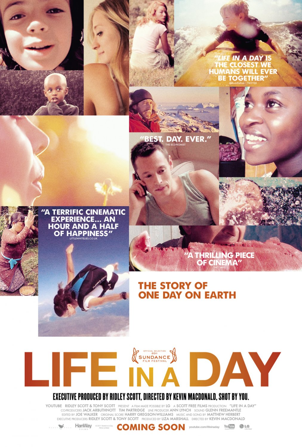 Extra Large Movie Poster Image for Life in a Day