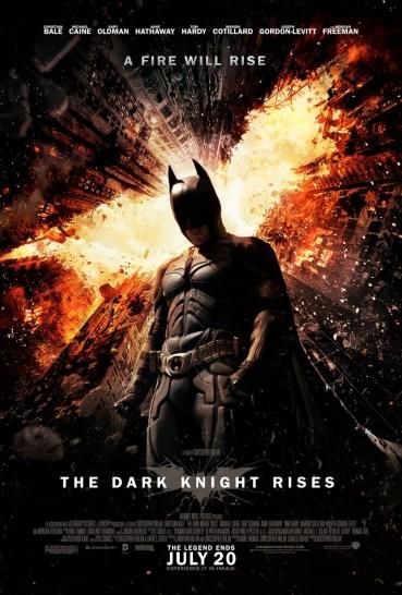 Resultado de imagen para Batman:The Dark Knight Rises movie poster official